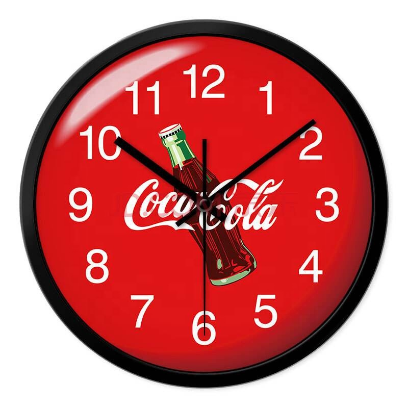 12 inch promotion plastic wall clock cheap clock