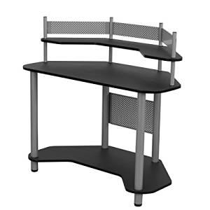 """Calico Study Corner Desk By Studio Designs- Multi-purpose Desk for Writing, Laptop or Computer Use- Perfect Corner Desk- Overall: 42.25"""" H X 46"""" W X 23.5"""" L*"""