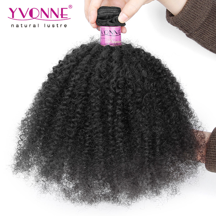 Black Girl Hair Extensions Afro Kinky Human Hair Bulk For Braiding