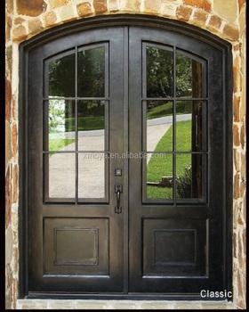французский двери гриль конструкции из кованого железа двери стекло Buy железная дверьдверь железные ворота дизайнкованые двери Product On