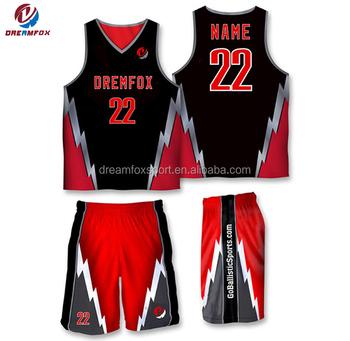 163ab11efb2 2019 Cool Dry Sublimated Custom Basketball Jersey Design