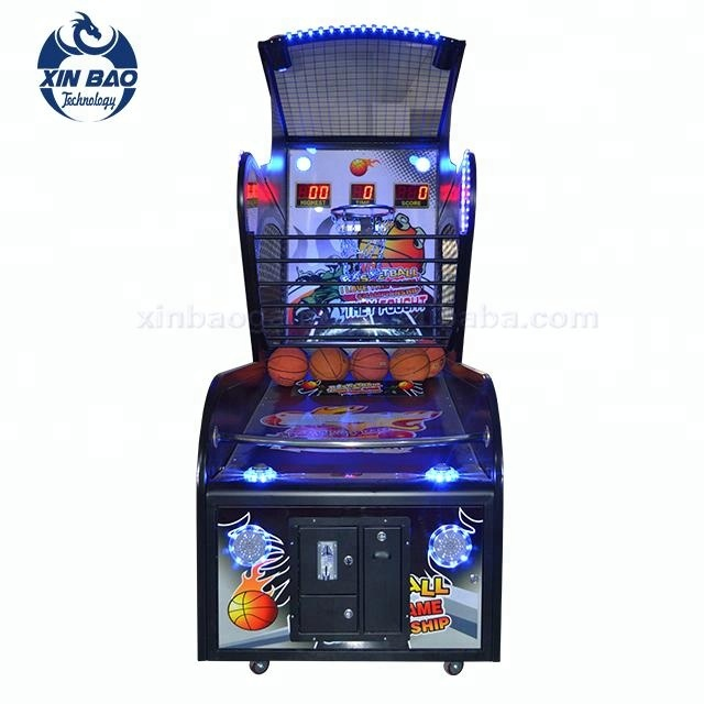 2019Classic Double Street Basketball Standing Shooting Arcade Game Machine Basket Ball Redemption Entertainment Games (YY001)
