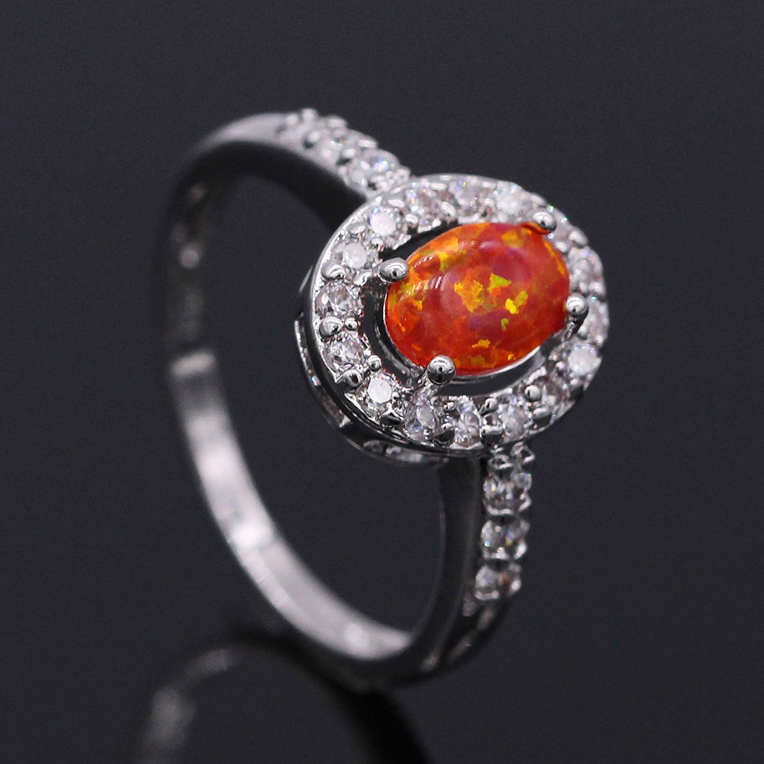 black file opal solid size lightning engagement ring gold product boulder rings ridge
