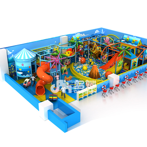Daycare Climbing Indoor Play Grounds, Multifunction Many Children Indoor Playgrounds Pirate Ship Adventure Land Play Area