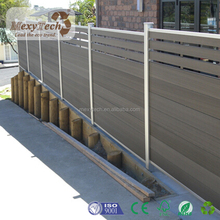 New decorative wpc swimming pool fencing and fence garden