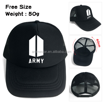 Korea Star KPOP BTS Black Baseball Caps Bulletproof Boy Scout Hip Pop Hats  Adjustable Hat 9b6da7b245c