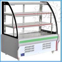 High quality supermarket meat display refrigerator