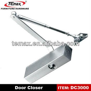 Aluminium Alloy Door Closer Furniture Door Adjustment