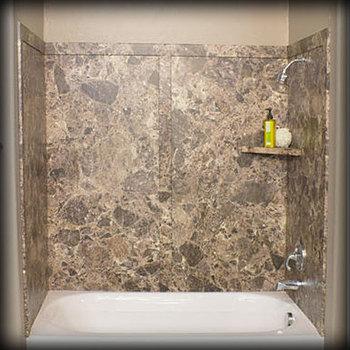 Granite Shower Panel And Granite Bath Tub Surround For Hotel Tub ...