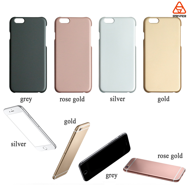 For iphone 6S rubber soft touch mobile phone case, for iphone 6S back cover, for iphone 6S phone cover rubber