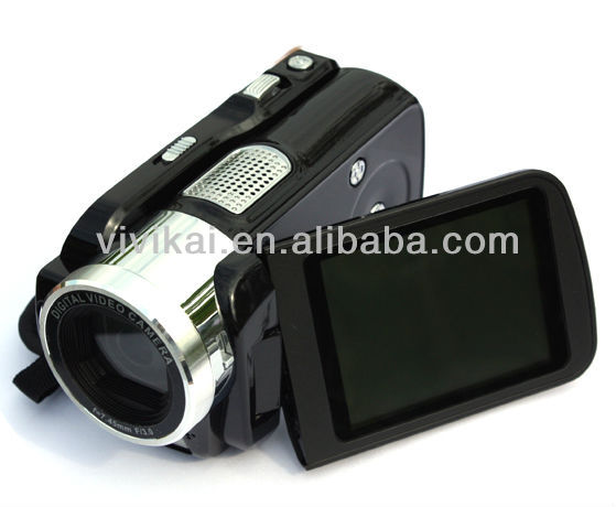 Dual card slots(SD&TF) HD 1080P 16MP Digital camcorder with 3.0inch TFT screen, 16X Digital zoom