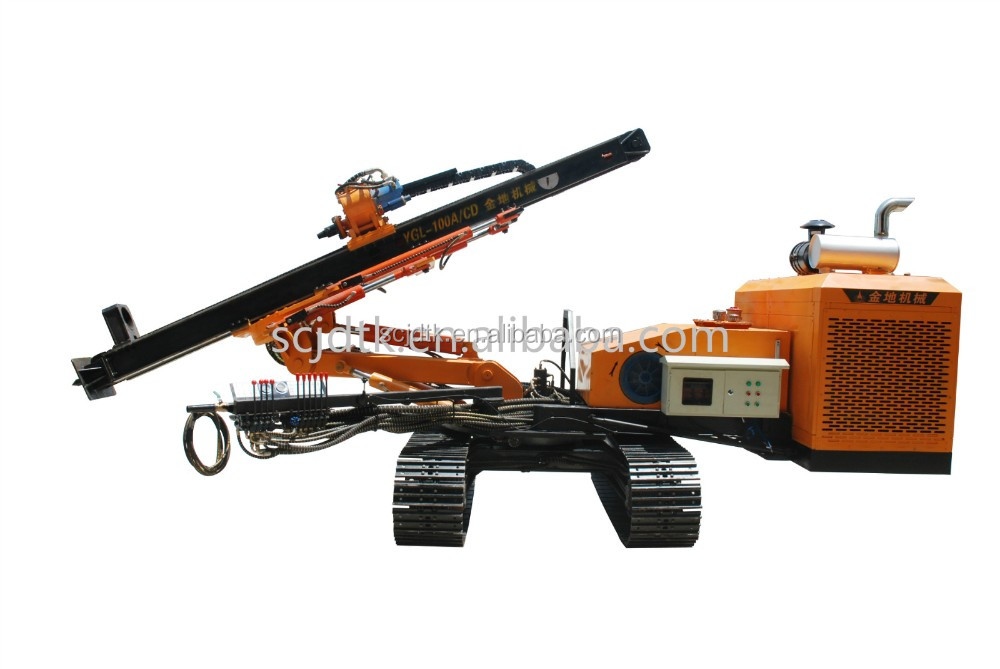 JINDI YGL-100A/C new product Close-circuit rotary system Percussion Drilling Horizontal Directional Drill for hot sale