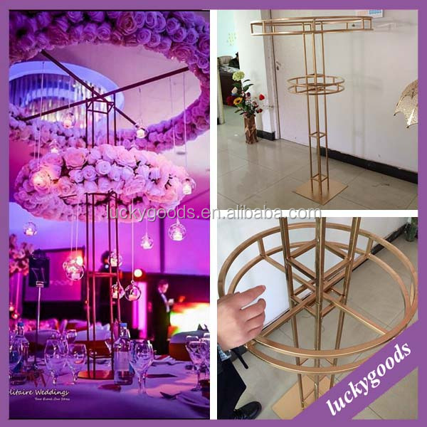 1.5m metal flower stand wedding high table decor decoration wholesale