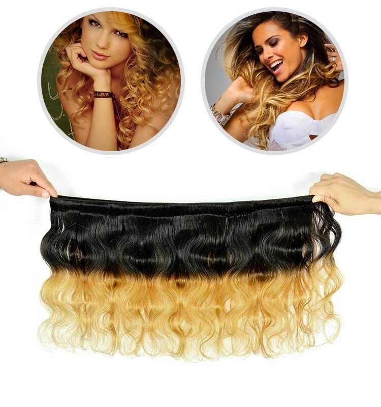 Fashion & Trend Ombre Hair,1B 27 Ombre Color Hair,100% Human Ombre Braiding Hair фото