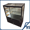 Aluminium framed design glass store mobile phone display showcase counter