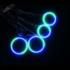 2018 Cars LED Marquee & horse race lamp 24V RGB angel eye halo rings lamp