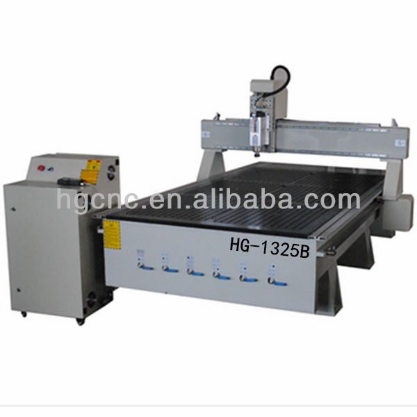 HG-1325B Factory directly on sale heavy duty type maxicam cnc router with cnc mach3