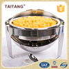 Electric Buffet Warming Tray Fuel Roll Top Chafing Dish For Wholesale