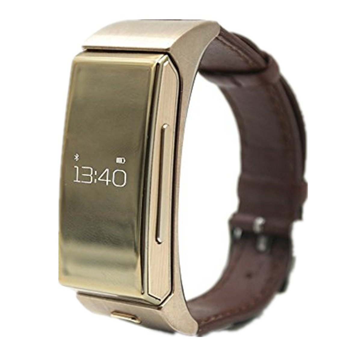 Bluetooth Smart Watch - TOOGOO(R) SmartWatch U20 Bluetooth & Headset Personal Smart Wearable Bracelet Heartrate Monitor Remote Camera for IOS & Android Smartphone Golden