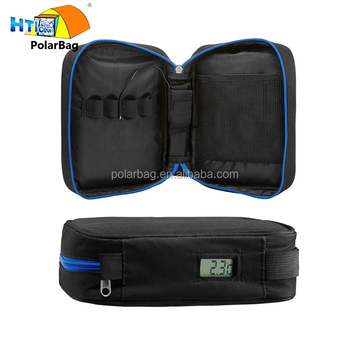Mini Portable Diabetes Diabetic Pouch Insulin Medical Organizer Travel Cooler Cooling Bag With Temperature