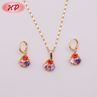 Jewelry New Wholesale Price Latest 18 K Gold Plated Jewelry For Girls