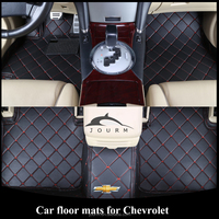 Customized leather foot mat car Chevrolet accessorie for dodge durango