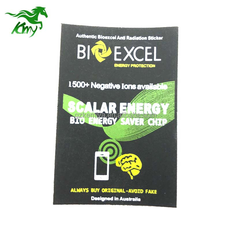 Energy Bio Energy Saver Hergestellt in Japan Negative Ionen Handy Skalar Energy Aufkleber Anti Radiation