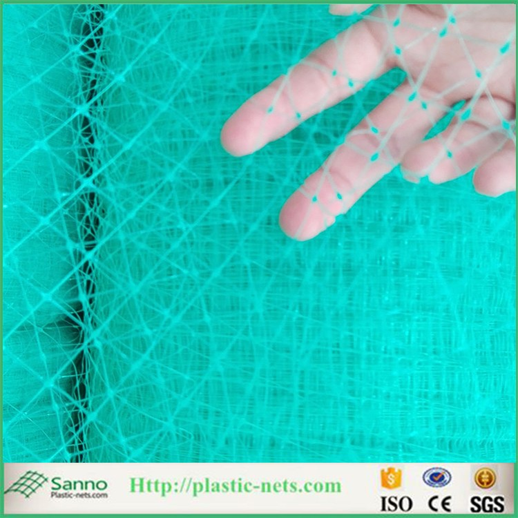 Construction building used plastic scaffold safety net