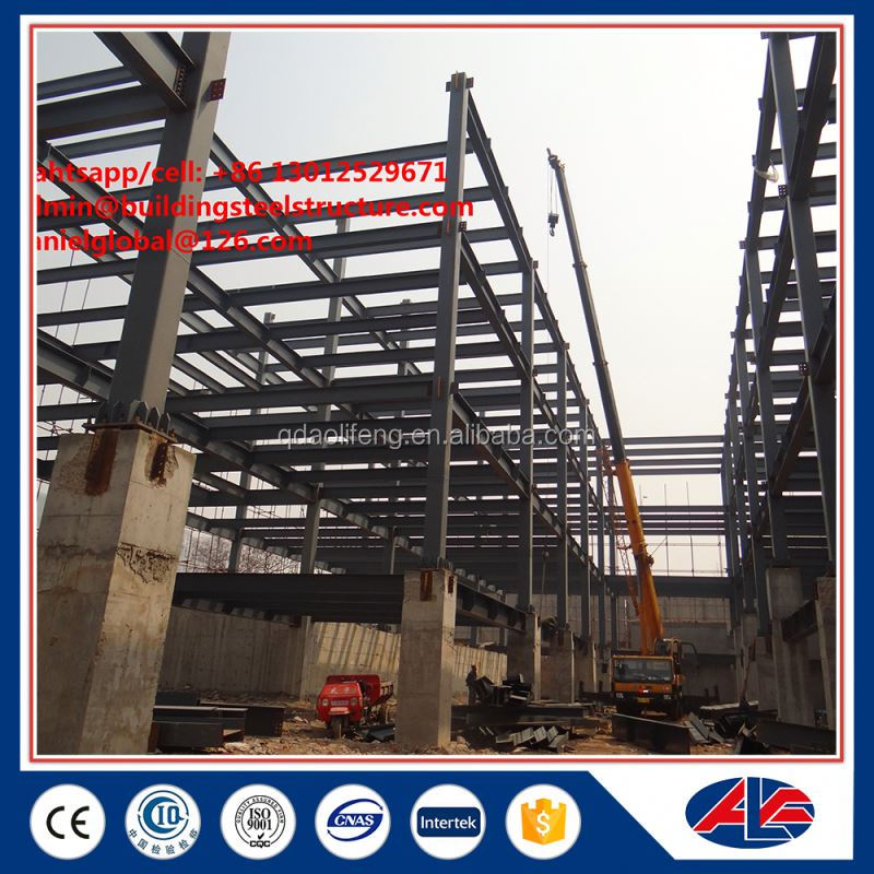 portal multi story frame steel structure warehouse construction
