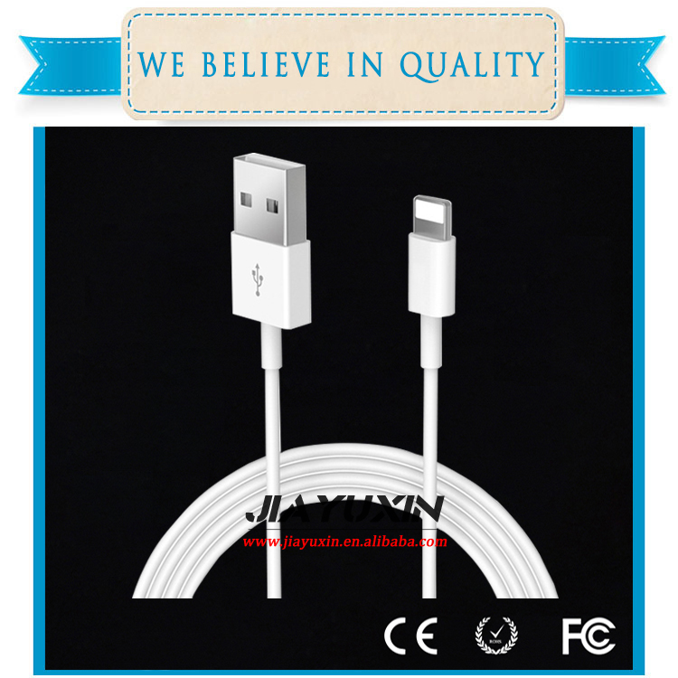For iPhone 6 6plus 7 7plus white usb cable charger and data sync cable original