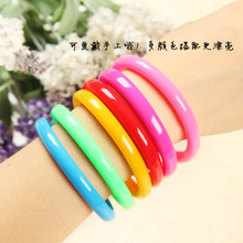 2015 hot candy color bracelet pen Korea creative stationery ballpoint pen fresh and lovely birthday gift,school supplies,kawaii