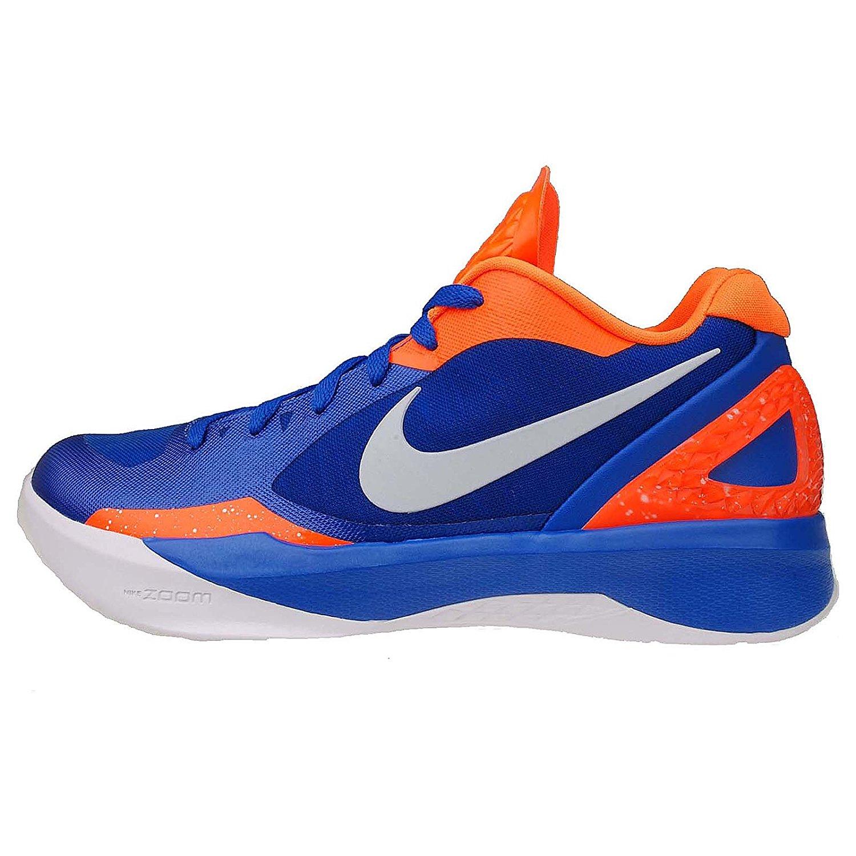 sports shoes 1a2b1 ba797 Get Quotations · Nike Men s ZOOM HYPERDUNK 2011 LOW, TREASURE  BLUE WHITE-TTL ORANGE