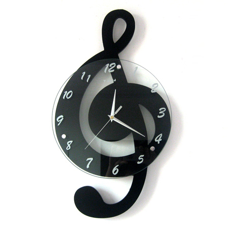 Achetez En Gros Horloge Murale Musical Note En Ligne 224