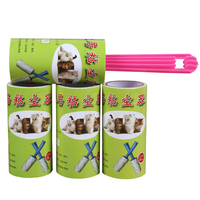 Adhesive Pet Hair Remover Cleaning Tape Print Logo Lint Roller