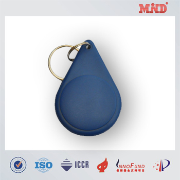 Mdc1426 Contactless Abs Key Fob Nfc Key Tag Key Chain With Flat ...