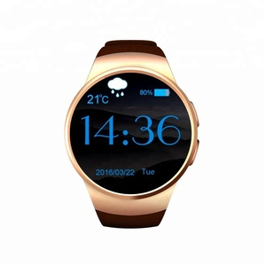 KW18 All-in-1 Bluetooth MP3 Playback touch Screen Smart Watch Phones