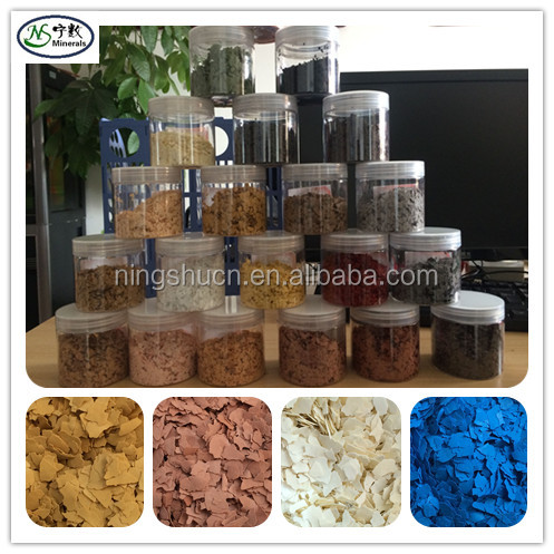Decorative Color Flakes Color Chips for Epoxy Coating & Stone Flake Epoxy & Wall Paint