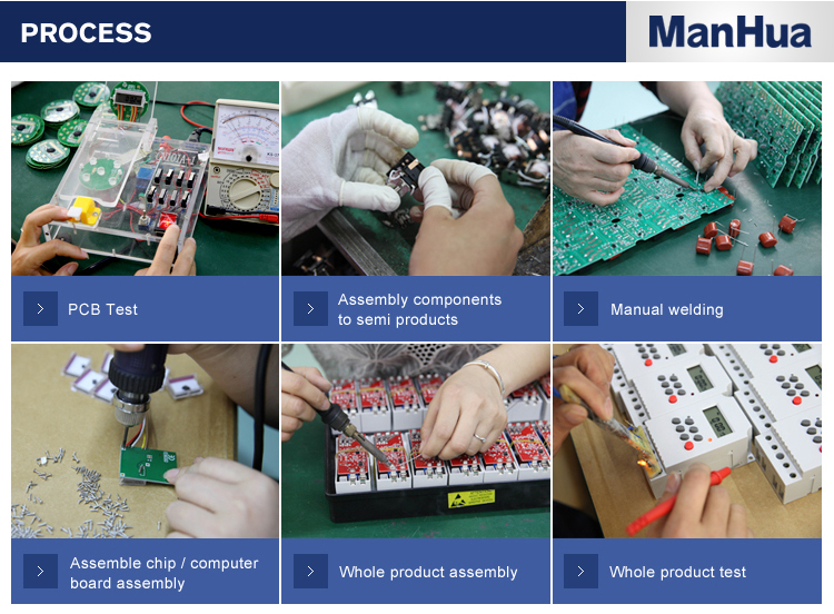 Manhua interruptor de controle inteligente 85-265vac 30a