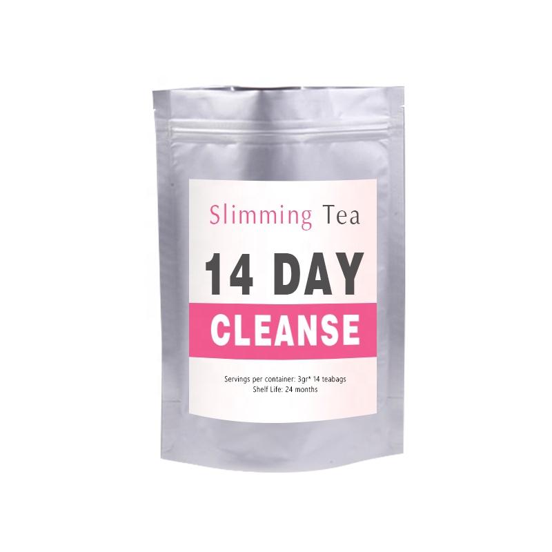 Customized Unisex Flat Tummy Slimming Tea Detox Fat Burner Herbal Tea 14 Day or 28 Day Tea - 4uTea | 4uTea.com