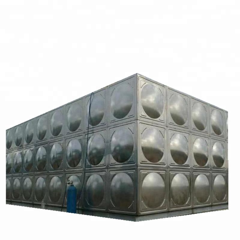 In acciaio inox serbatoio di acqua/acqua serbatoio di stoccaggio per sistema di trattamento delle acque