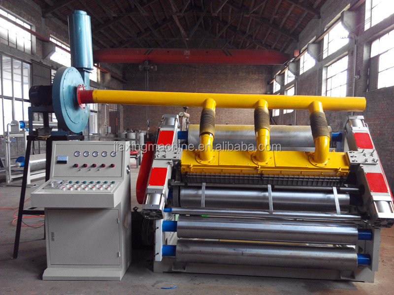 SF-280 adsorption single facer/corrugated cardboard production line