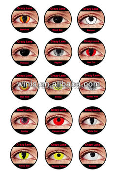 Wholesale Halloween Korean Color Contacts Lenses - Buy Crazy ...