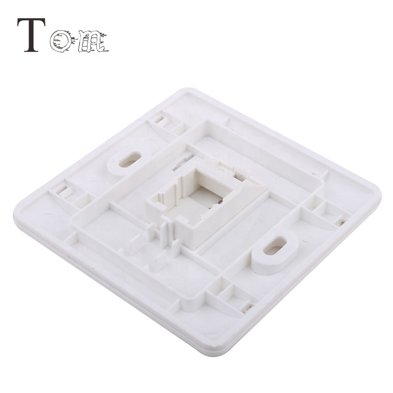 TOM MB-20-01 CAT6 RJ45 Wall outlet UnShielded Faceplate