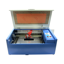 HIGH quality CO2 laser cnc engraver machine 3040 50W stamp make machine