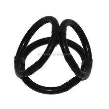 Triple Helix Erection Cock Ring Enhancer Ring Silicone Ring For Men