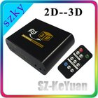 High definition 2D to 3D video converter