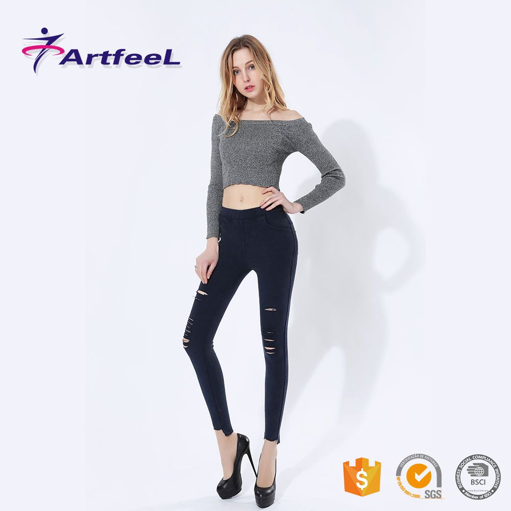 Ripped best fabric jeans for jean fashin style colors trousers