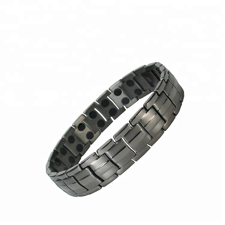 2019 Top Brand Luxury Bio Energy Health Titanium Copper Magnetic Bracelet