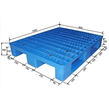 Standard Pallet Export Size HDPE Single Face Plastic
