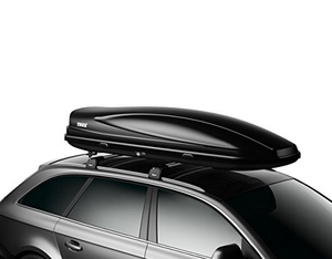 Car top roof rack box for traveling cargo storage